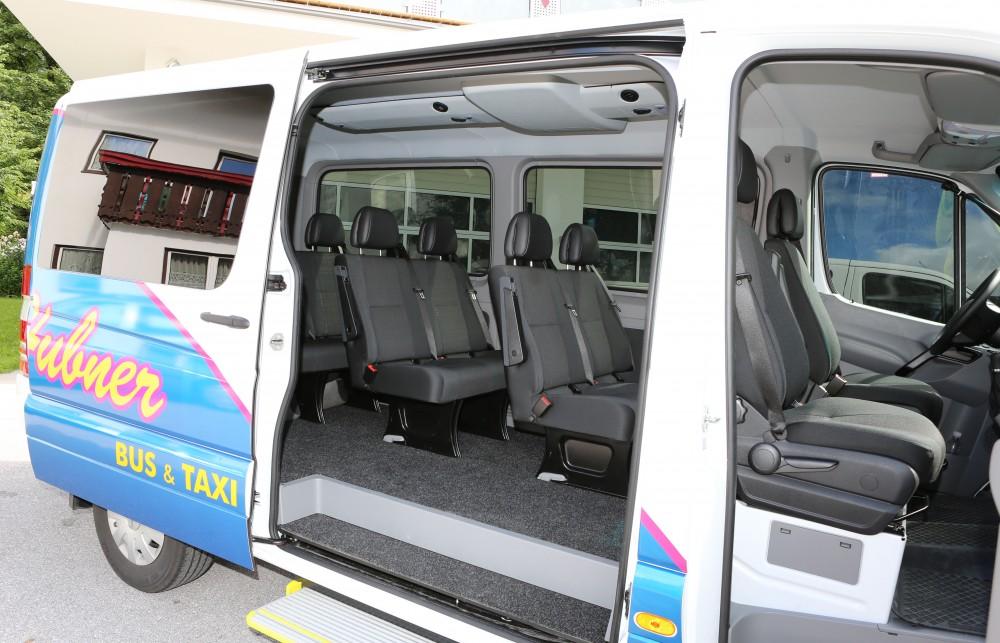 moderne busflotte hubner taxi ramsau. Black Bedroom Furniture Sets. Home Design Ideas
