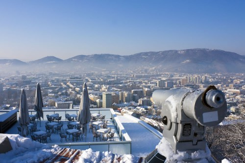 Graz im Winter